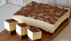 Perfect Trio :: A dupa rośnie. Mousse, Tiramisu, Ale, Cheesecake, Food And Drink, Cookies, Ethnic Recipes, Knits, Kitchen