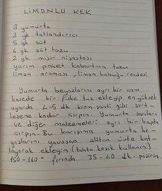 Limonlu kek Pudding Cake, Turkish Recipes, Cake Cookies, Chocolate Cake, Cake Recipes, Food And Drink, Recipes, Kitchens, Mudpie