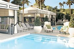 Dive in to some of LA's sexiest hotel pools...The Viceroy & Hotel Shangri-La!