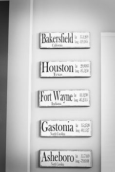 I love this idea.  It's reminders of the places they have lived.  What a great way to look back and see where/what God has brought you by kristine