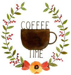 all the time is coffee time.