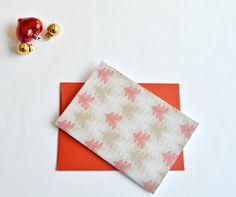 Christmas cards (set of 4), Christmas notecards , printed Christmas cards