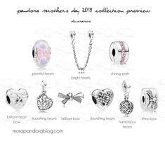 Pandora Mother's Day 2018 preview decorative charms