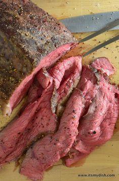 Deli Roast Beef Recipe, Best Roast Beef, Roast Beef Dinner, Roast Beef Sandwiches, Beef Dishes, Food Dishes, Main Dishes, Meat Recipes, Cooking Recipes
