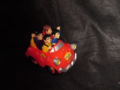 The Wiggles Big Red Car Singing Toy Greg Jeff Anthony Makes Noises #TheWiggles