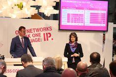 Članica Uprave DT-a Claudia Nemet zadužena za europsko tržište i tehnologiju na MWC 2014 u Barceloni najavila je kako je za Deutsche Telekom prelazak na IP mreže i mdoernijazciju fiksne infrastrukture vrlo značajan. Istovoremeno, HT je krajem 2010. godine započeo modernizaciju svoje fiksne mreže.