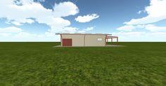 Cool 3D #marketing http://ift.tt/2qI2RzE #barn #workshop #greenhouse #garage #roofing #DIY