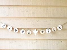 Hey, I found this really awesome Etsy listing at https://www.etsy.com/listing/242919025/rustic-happy-fall-garland-autumn-banner