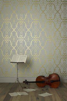 Papeles pintados de la interiorista Nina Campbell ya en nuestra tienda online