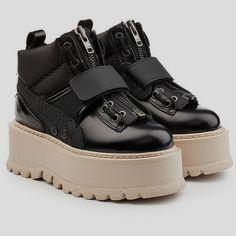 Fenty Puma by Rihanna Zipped Sneaker Boots in Cypress Green  390 ... f245a2fb4