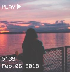 M O O N V E I N S 1 0 1 #vhs #aesthetic #girl #sunset #pink
