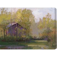 Gallery Direct Calm Cottage by Steve Parker Painting Print on Canvas Size: