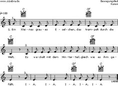Ein kleines graues Eselchen - Kinderlieder und Singspiele | Labbé Verlag