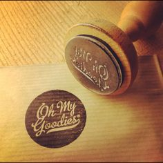 Stamp, lovely design for home baked cookies and such ;)