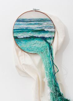 just-another-fashion-blog:  Ana Teresa Barbozaembroidered lanscapes