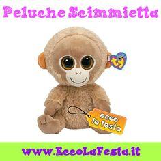 Peluches scimmie a prezzi imbattibili! http://www.eccolafesta.it/idee-articoli-per-feste/peluches.html