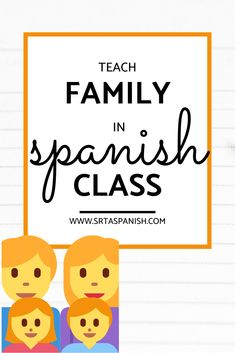 Check out these easy and fun activities for your middle school or high school Spanish classes! Students learn how to use family vocabulary in Spanish sentences in fun and meaningful ways. Individual, partner, small group and class-wide activities and lesson plans are included in this post for la familia! Ideas for a bulletin board or classroom display, storytelling, comprehensible input, and a variety of reading activities are included! Click to see more! #spanishclass #secondaryspanish Middle School Spanish, Spanish Class, Teaching Spanish, Spanish 1, Spanish Lesson Plans, Spanish Lessons, Class Activities, Reading Activities, Simple Spanish Words