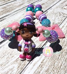 Doc Mcstuffins Necklace inspired by ZallistasBowtique on Etsy, $34.00
