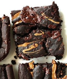 If you love chocolate and brownies you'll love these mouth-watering recipes. Try making these healthy brownie recipes for a tasty dessert you won't have to feel bad about! These desserts are easy to make and great for entertaining!