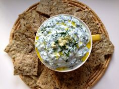 Creamy Spinach Dip & Healthy Summertime Tips - NourishRDs