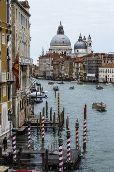 CanalPoles Venice, view WxH 53.4 x 80.3cm, 21.03 x 31.62 inches  #art #photography #venice