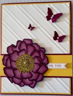 Blendabilitie Love by craftynursesstamp - daffodil and razzleberry