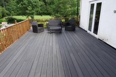 the high price wood plastic terrace flooring , co extrusion decking in usa Decking Fence, Wpc Decking, Decking Boards, Wood Boards, Cool Deck, Diy Deck, Patio Gazebo, Backyard, Deck Cost