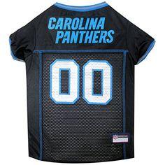 69b93d944 NFL Carolina Panthers Pet Jersey XXLarge     Click image to review more  details. Dog ...