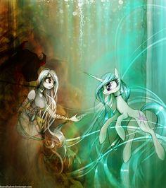 The Last Unicorn by FoxInShadow.deviantart.com on @deviantART