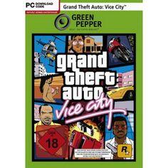 Grand Theft Auto - Vice City  PC  (Green Pepper) in Actionspiele FSK 18, Spiele und Games in Online Shop http://Spiel.Zone