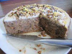 Raw Hummingbird Cake