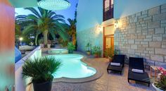 Hotel Villa Adriatica Supetar The small family-run boutique hotel Villa Adriatica in Supetar, on the northern part of the Island Brac, offers authentic Croatian hospitality and great local food.