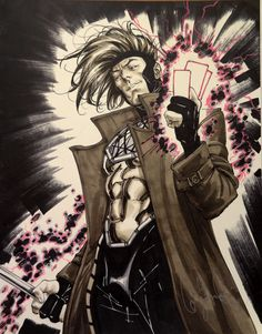 Gambit *  Auction your comics on http://www.comicbazaar.co.uk