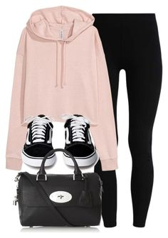 """#14019"" by vany-alvarado ❤ liked on Polyvore featuring H&M and Mulberry"