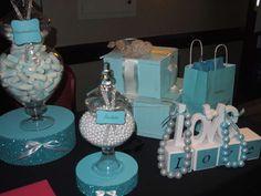 Tiffany and co Azul Tiffany, Tiffany Blue Party, Tiffany Birthday Party, Tiffany Blue Weddings, Tiffany Theme, Tiffany Wedding, Tiffany And Co, Teal Party, Tiffany Baby Showers
