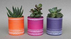 Como Reaproveitar Latas de Leite Condensado | Reciclagem no Meio Ambiente – O seu portal de artesanato com material reciclado