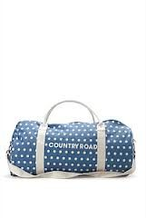 Blue Spot Duffel Bag