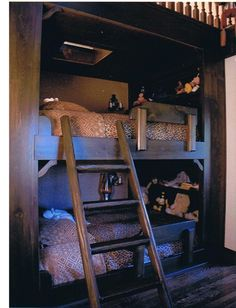 Western style bunk beds