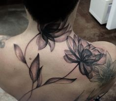 X-ray Floral Tattoo by Moorea Hum