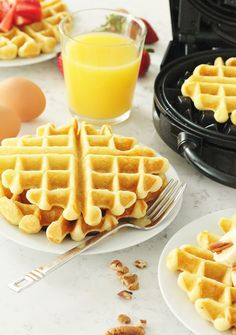Baking with Blondie : Back to Basics: The Best Buttermilk Waffles