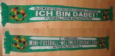 Fussballverband Rheinland e.V. - mini football Scarf You can Buy It from www.ScarvesForSale.eu