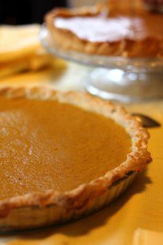 tarte à la citrouille ★ pumpkin pie