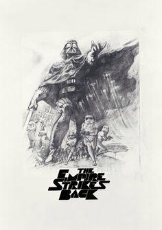 Star Wars concept art.