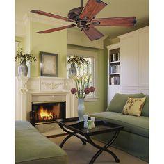 Quiet Ceiling Fans, 60 Inch Ceiling Fans, Colorful Interior Design, Colorful Interiors, Condominium Interior, Best Interior Paint, Black Ceiling Fan, Interiors Magazine, Inside Home
