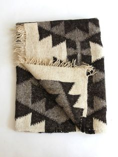 Love this natural woven blanket