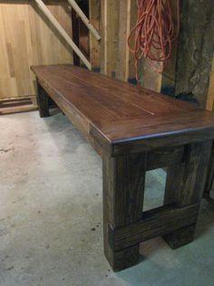DIY farmhouse table - Ana White inspired + Restoration Hardware style upgrade = NEXT PROJECT