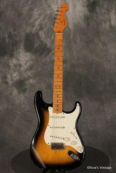 Fender Stratocaster '57 Reissue 1982 Sunburst