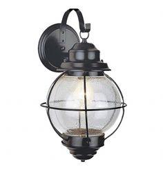סרגון קיר  בסגנון: כפרי  עשוי: מתכת,זכוכית 1*40W . היכנסו לצפייה במפרט מלא של המוצר. תאורת חוץ