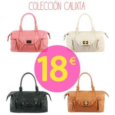 Bolsos de 15 a 20€ en Misako. On line y tiendas.