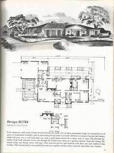 Vintage house plans gambrel roof 1970s get rid of the for Vintage garage plans